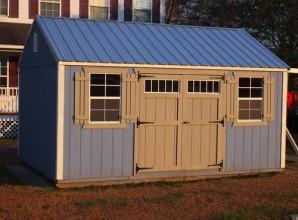 Wooden storage structure