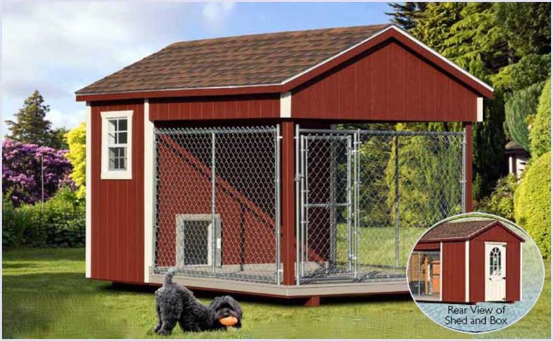8x12standard dog house